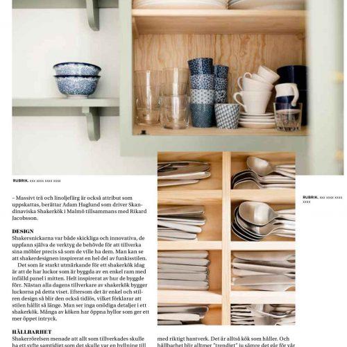 Vårt Nya Hus reportage 2 med Skandinaviska Shakerkök